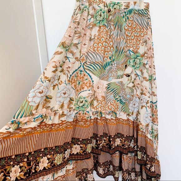 erin louise Dresses & Skirts - NWT Spell Look Alike Boho Skirt